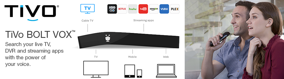 TiVo BOLT VOX Search with your voice
