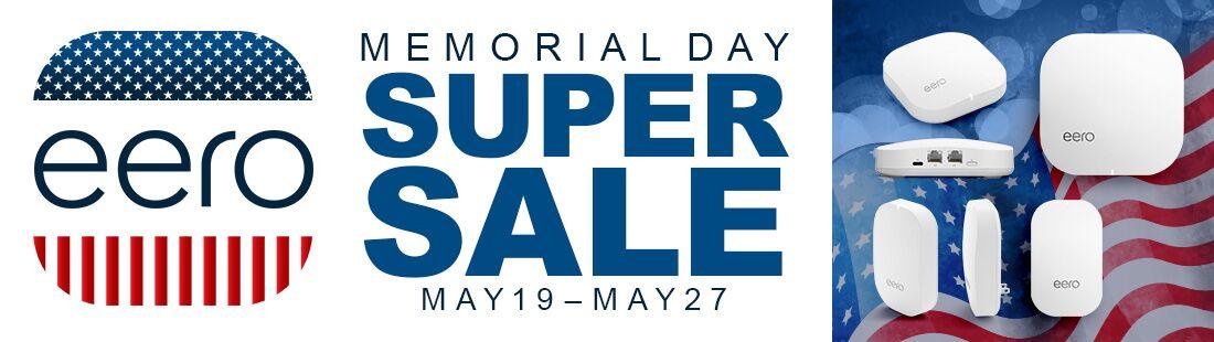 eero Memorial Day Sale