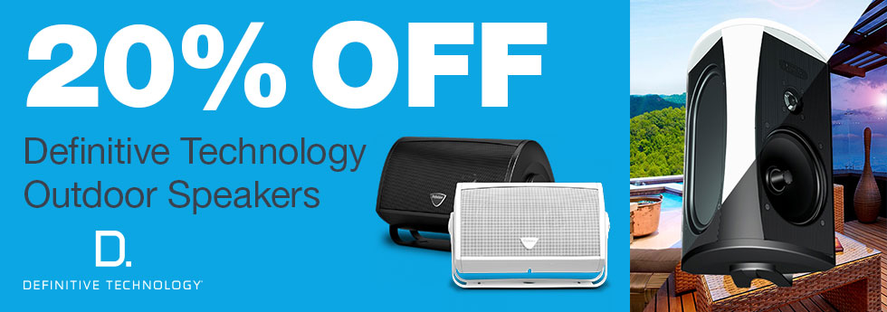 20% Off DefTech Indoor/Outdoor Speak
